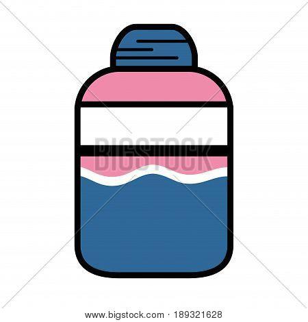 ointment treatment medicine cream to skincare vector illustration
