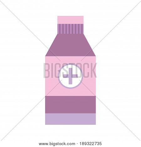 alcohol isopropelico to disinfect wounds of the body vector illustration poster