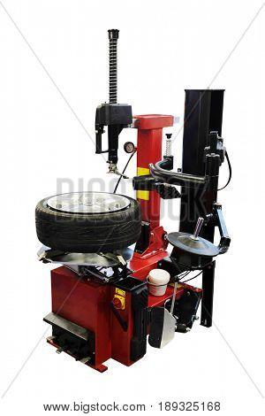Tyre fitting equipment