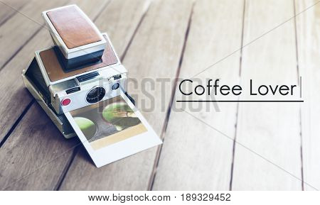 Coffee lover word