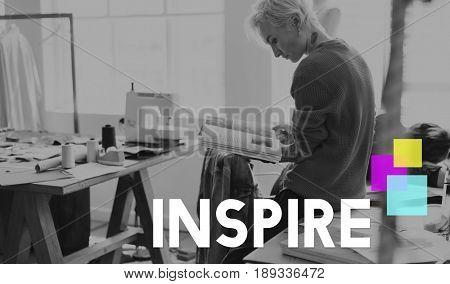 Be Inspired Inspiration Mindset Motivation Word