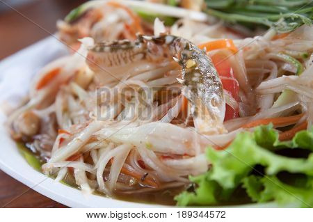 Papaya Salad Thai call