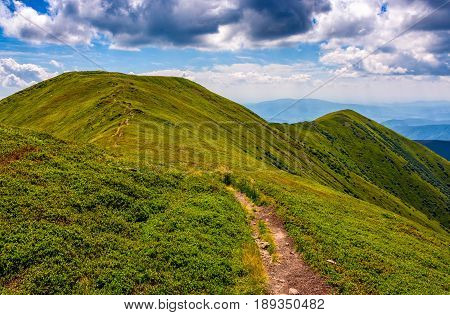 Path Through The Mountain Ridge