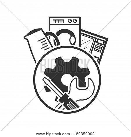 Repair Icon. Service Symbol