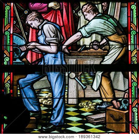 Stained Glass - Woodworking