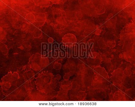 red stained background