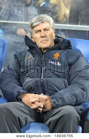 Holland (Under-21) manager Cor Pot