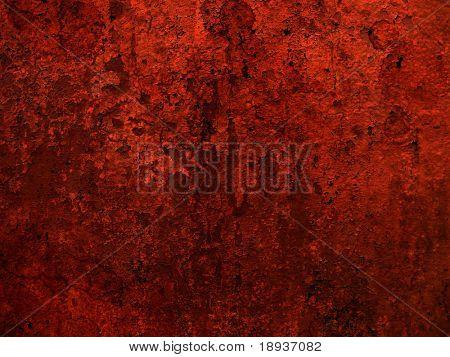 Red grunge cracked background