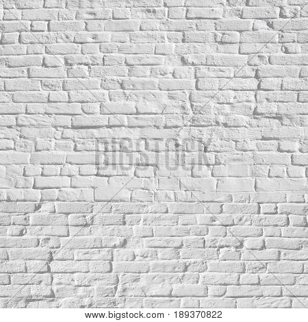 Square background made of grunge brickwork stone