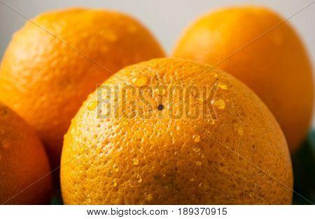 Orange fruit. many whole orange. orange slice