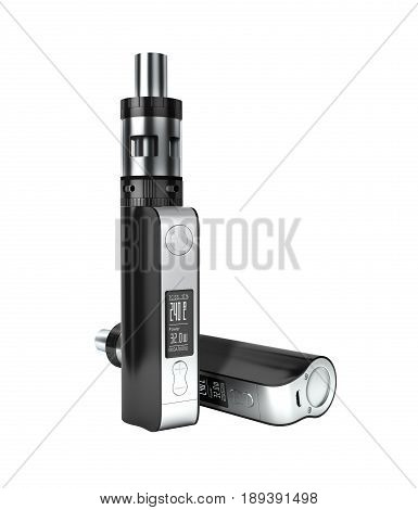 Electronic Cigarettе Box Mode Without Shadow On White Background 3D