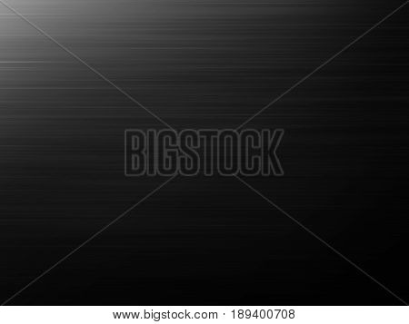 abstract black background or gray design pattern of horisontal lines on faint vintage pattern of vintage grunge background texture on black
