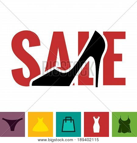 Footwear Sale Icon