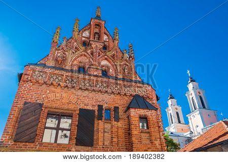 Kaunas old town, Kaunas city , Lithuania.
