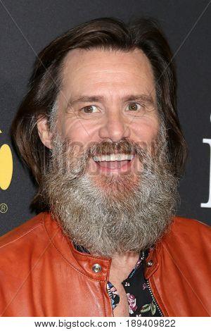 LOS ANGELES - MAY 31:  Jim Carrey at the Showtime's