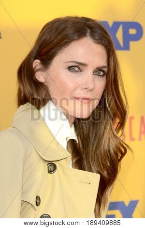 LOS ANGELES - JUN 1:  Keri Russell at the FX's