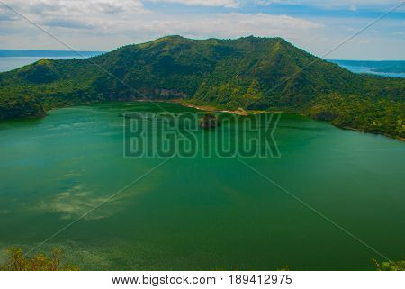 Taal Volcano In Tagaytay, Philippines