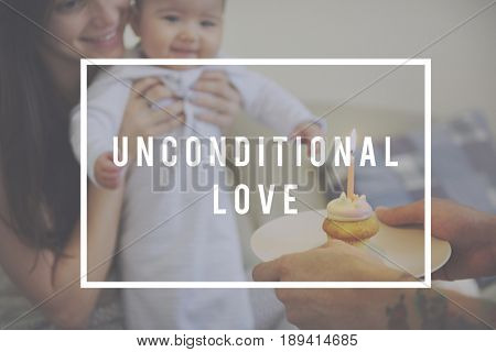 Family Spending Quality Time Together Unconditional Love