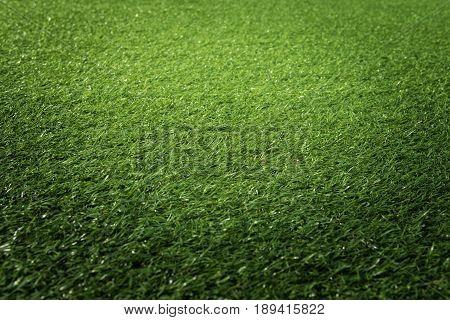Artificial Green Grass Texture Background