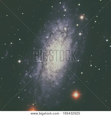 Ngc 3621 Is A Field Spiral Galaxy In The Constellation Of Hydra.
