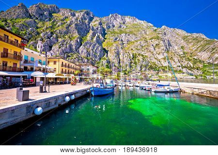 Limone Sul Garda Turquoise Waterfront View