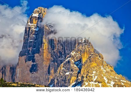 Three Peaks Of Lavaredo In Dolomites Apls View