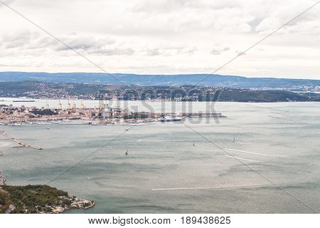 Barcolana Regatta Of Trieste