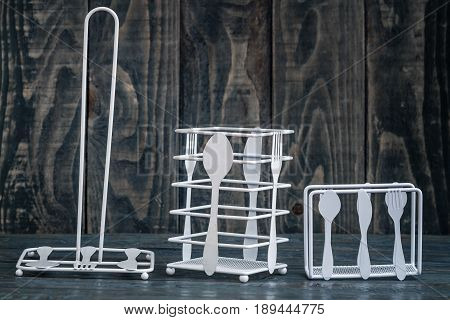 Rolling Paper Towel Standing Holder and  Paper Towel Standing Holder