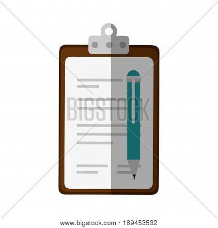 document paper holder vector icon illustration graphic design