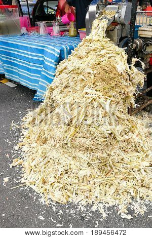 Sugarcane Bagasse Can Be Recycled As Paper, Fuel, Renewable Energy.
