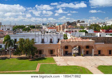 Zona Colonial, Cityscape Of Santo Domingo