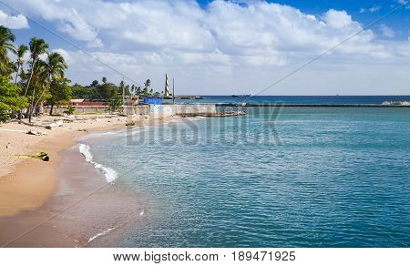 Coastal Landscape Of Santo Domingo
