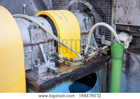 Detail of Fumes ventilation system - Poland.