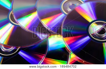 Background Of The Cd Disks