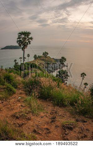 Sunset At Nay Harn On Phuket Island In Thailand