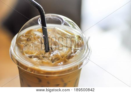 a glass of iced coffee iced cappuccino