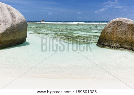 Crystal Clear Water, La Digue, Seychelles