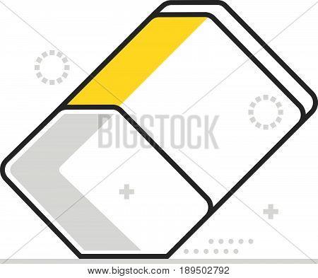 Color Box Eraser Icon