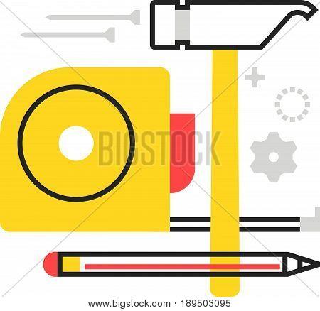 Color Box Tools Icon
