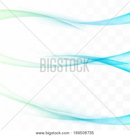 Bright futuristic speed colorful swoosh lines. Collection of vivid gradient web header footer set. Dynamic halftone transparent beautiful motion template. Vector illustration
