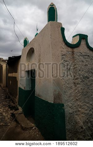 Abadir Umar ar-Rida shrine and mosque in Harar, Ethiopia