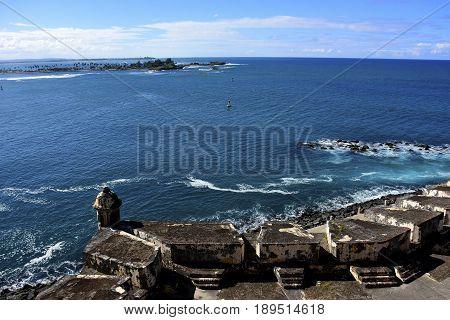 El Morro Fort San Juan Puerto Rico.