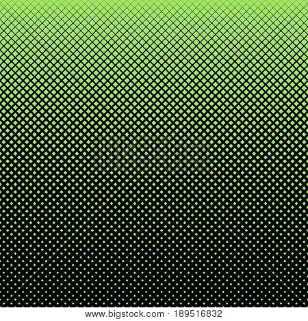 Abstract halftone pattern design background from pink diagonal squares in varying sizes on black - vector graphic