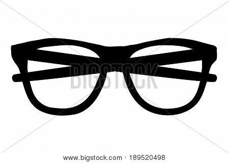 glasses icon vector illustration , eyeglasses ,