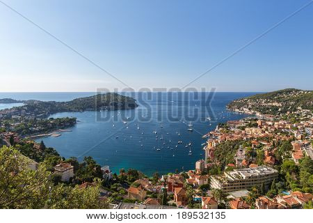 Villefranche sur Mer adjoins the city of Nice