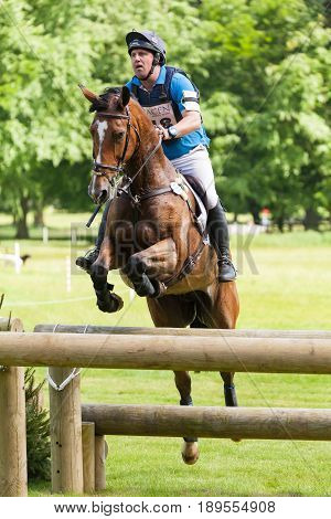 Houghton International Horse Trials Matthew Wright Riding Zoe