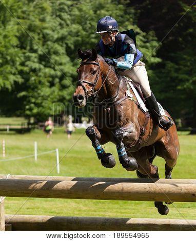 Houghton International Horse Trials Jodie Amos Riding Springpower