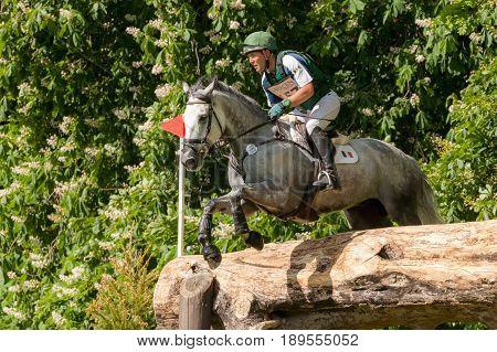 Houghton International Horse Trials Austin Oconner Riding Colorado Blue