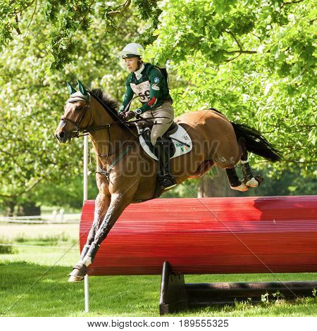 Houghton International Horse Trials Aoife Clark Riding Colorfast Ii