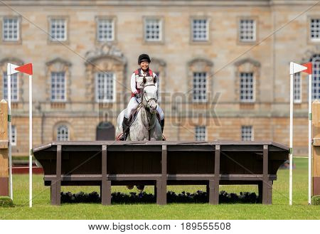 Houghton International Horse Trials Alexia Schwarz Riding Lecklin Champeix